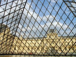обои Музей Лувр. Париж. Франция фото