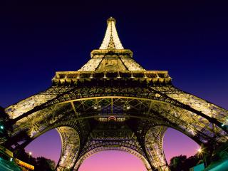 обои У подножия Эйфеловой башни. Париж. Франция фото