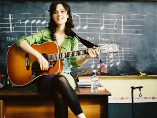 обои Уроки игры на гитаре фото