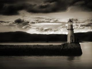 обои Одинокий маяк фото