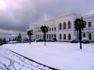 обои Зима в Крыму фото