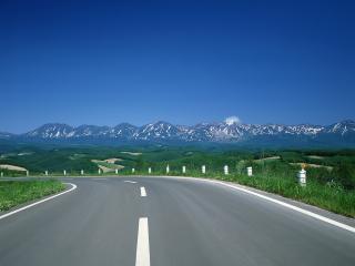 обои Вид на горы фото