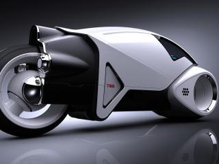 обои Мотоцикл с нитро фото