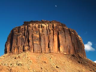 обои Гора в пустыне фото