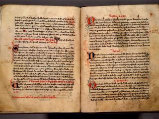 обои Записи в книге на Латыни фото