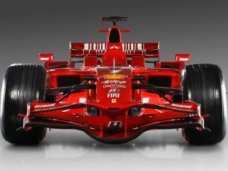 обои Красный спортивный автомобиль победителя фото
