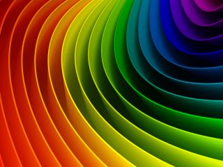 обои Разноцветная спиралька фото