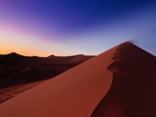 обои Ровный песчаный холм фото