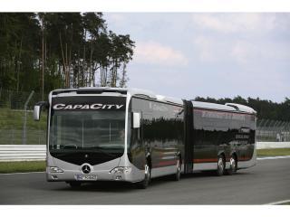 обои Автобус на испытаниях фото