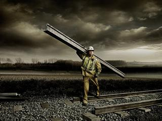 обои Железнодорожники настолько суровы. фото