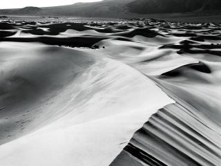 обои Песчаные барханы пустыни фото
