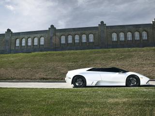 обои Родстер Lamborghini LP640 фото