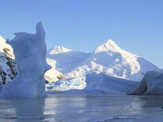 обои Айсберги на Аляске фото