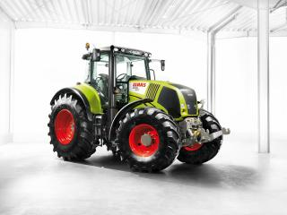 обои Трактор claas axion 850 фото