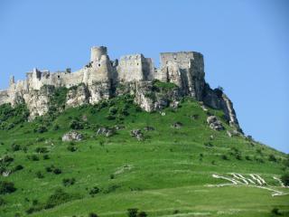 обои Руины на скале фото