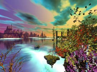 обои Невероятный пейзаж фото