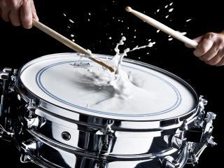 обои Молочный барабан фото
