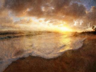 обои Волны с моря фото