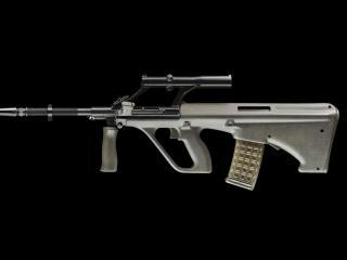 обои Армейская универсальная винтовка фото