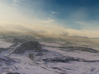 обои Горы с высоты фото