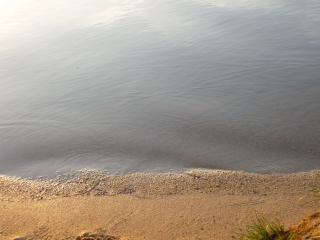 обои Берег пруда фото