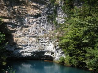 обои Горное озеро неописуемой красоты фото