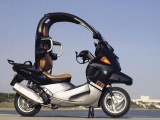 обои Мотоцикл БМВ с крышей фото