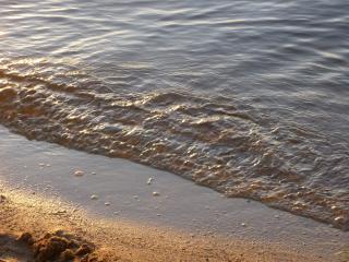 обои Омывает песок фото