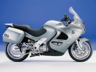 обои Серый мотоцикл БМВ K1200 GT фото