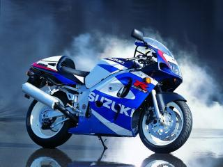 обои Новенький мотоцикл Сузуки GSX R фото