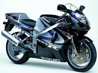 обои Мотоцикл Сузуки черного цвета фото