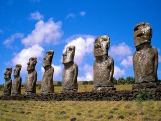 обои Аху Акиви,   Чили фото