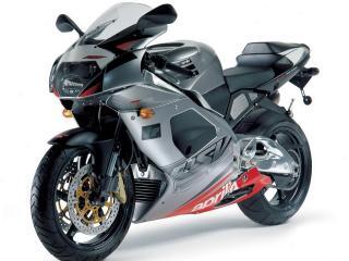 обои Мотоцикл Априлия с тюнингом серого цвета фото