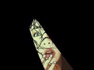 обои Выражение страха в глазах фото