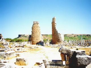 обои Развалины древнего поселения фото