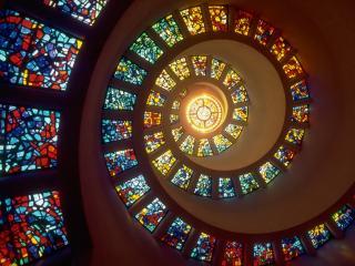 обои Витражный купол фото