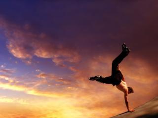 обои В свободном прыжке фото
