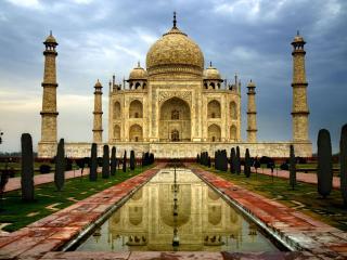 обои Индия, город Агра - Тадж-Махал фото