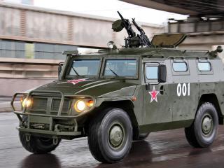 обои Газ-233014 тигр,   армейский вариант,   бронеавтомобиль фото