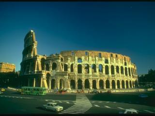 обои Магистраль вокруг Колизея фото