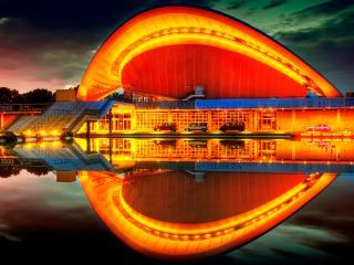 обои Берлин,   германия,   дом культур мира фото