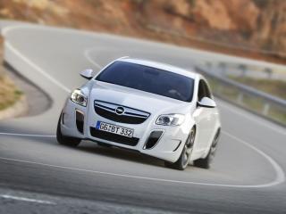 обои Белый Opel Insignia фото