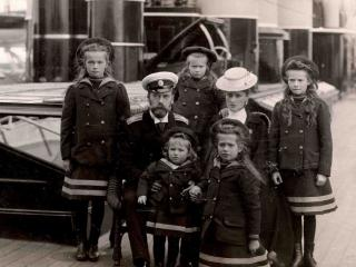 обои Император  Николай 2  исемья,   российская империя 1907год фото