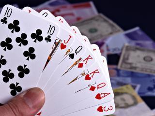 обои Карты покер игра на деньги фото
