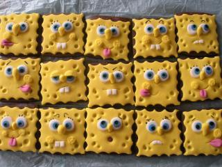 обои Печенье Губка Боб фото
