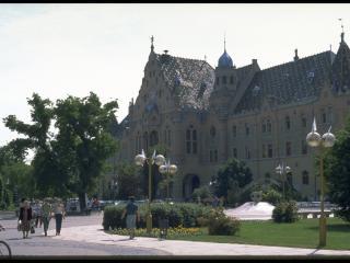 обои Административное здание в европейском городе фото