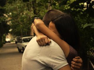 обои Девушка и  парень,   любовь фото