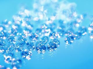 обои Голубые драгоценные камни фото