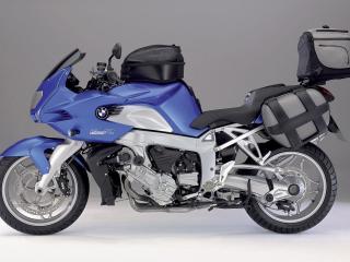 обои Снаряженный мотоцикл фото
