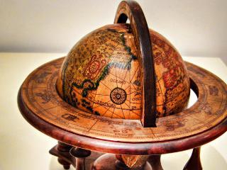обои Старинный глобус фото